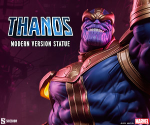 Thanos (Modern Version) Statue by Sideshow Collectibles