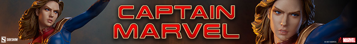 Captain Marvel Statue by Sideshow Collectibles