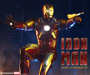 The Iron Man Mark VII Maquette from Sideshow