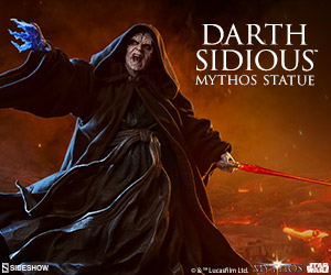Darth Sidious™ Mythos Statue by Sideshow Collectibles