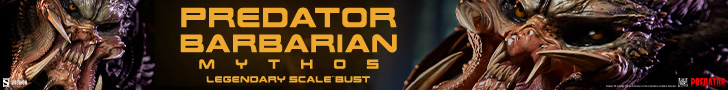 Predator Barbarian Mythos Legendary Scale™ Bust by Sideshow Collectibles