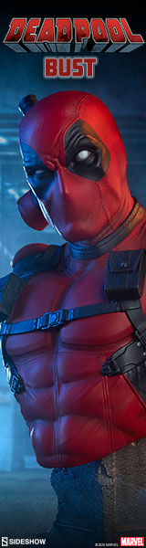 Deadpool Bust by Sideshow Collectibles