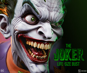 The Joker™ Life-Size Bust by Sideshow Collectibles