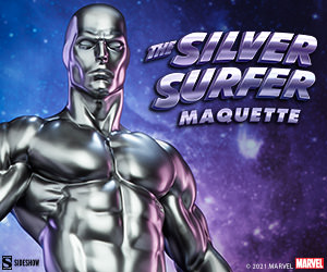 Silver Surfer Maquette by Sideshow Collectibles