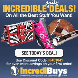 Incredible daily Deals on all the best stuff!  See today's deal!