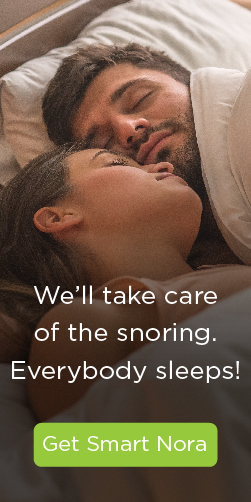 The Smart Nora Snoring Device: