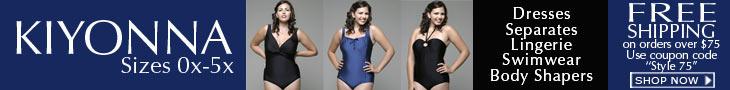 Plus Size Dresses, Separates, Lingeries, Swimwear, Boday Shapers