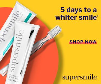 Supersmile Toothpaste and Accelerator