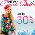 Take Up to 20% off New Beach Belle Arrivals at Swimsuitsforall.com