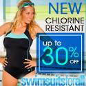 Save Up to 30% off New Chlorine Resistant Swimwear at swimsuitsforall.com