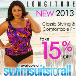 New Longitude 2013 now 15% off with code LONG15 at SwimsuitsForAll.com