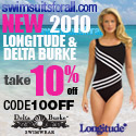 Take 10% Off New 2010 Longitude & Delta Burke Swimsuits. Use Code 10OFF
