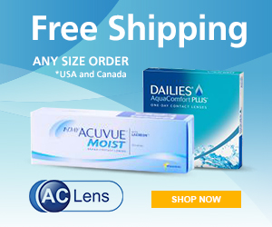 Free Shipping On All Orders at AC Lens!