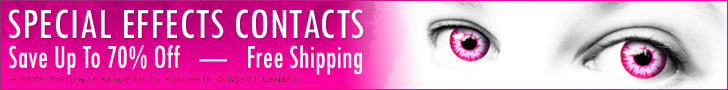 Buy Special Effects Contacts Online