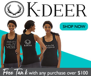 Spend $100 or more and get a free graphic tank. No code required. While supplies last. Visit K-DEER.com