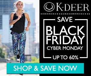 Save up to 60% at K-DEER for Black Friday and Cyber Monday