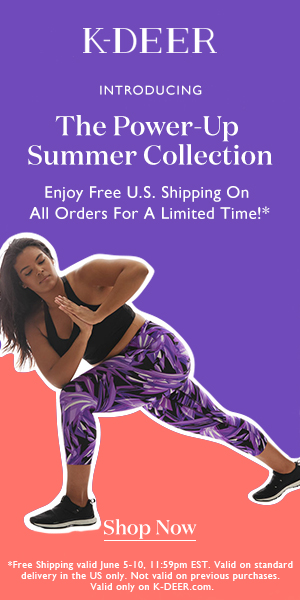 K-DEER Invites you to be a Force of Nature!  Introducing The Power-Up Summer Collection - An ode to strength, empowerment and change.  Complimentary Domestic Shipping on all orders. Limited time offer so Shop NOW at K-DEER.com