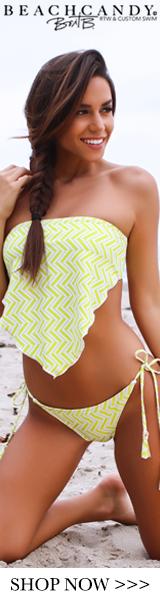 JENNA Handkerchief Tankini Top Swimsuit