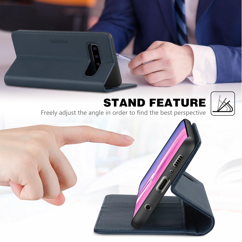 Shieldon Samsung S10 Wallet Case