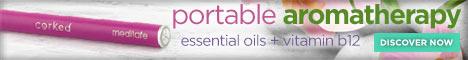 Corked Portable Aromatherapy
