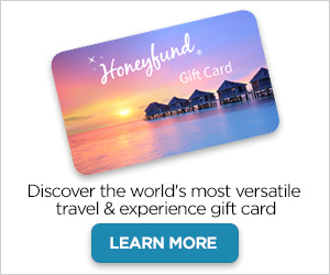 Give the perfect travel gift - a Honeyfund gift card