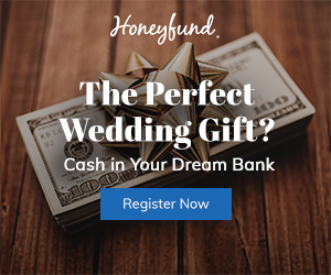 The perfect wedding gift is cash in your dream bank. Sign up for Honeyfund today to start your dream registry.