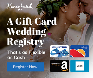 A gift card registry that's as flexible as cash. Sign up for Honeyfund today to start your dream registry.