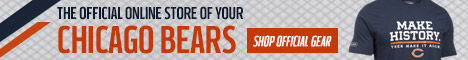Shop Official Bears Gear at the Chicago Bears Pro Shop