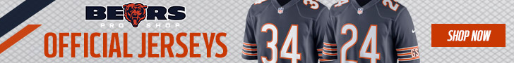 Shop for Jerseys at the Official Store of the Chicago Bears