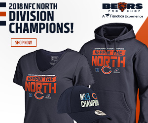 Chicago Bears 2018 NFC North Champs Gear