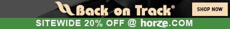 20% OFF ALL BACK ON TRACK