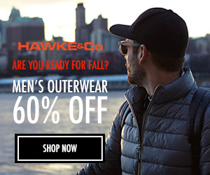 Don't Miss Out. 60% OFF - Men's Outerwear