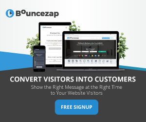 Free Signup at BounceZap.com.
