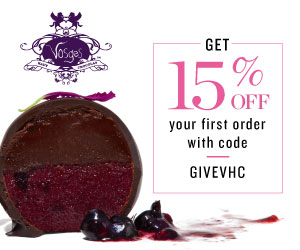Get 15% off your first order with Vosges Haut-Chocolat