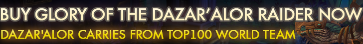 Dazar'alor Carries From Top100 World Team