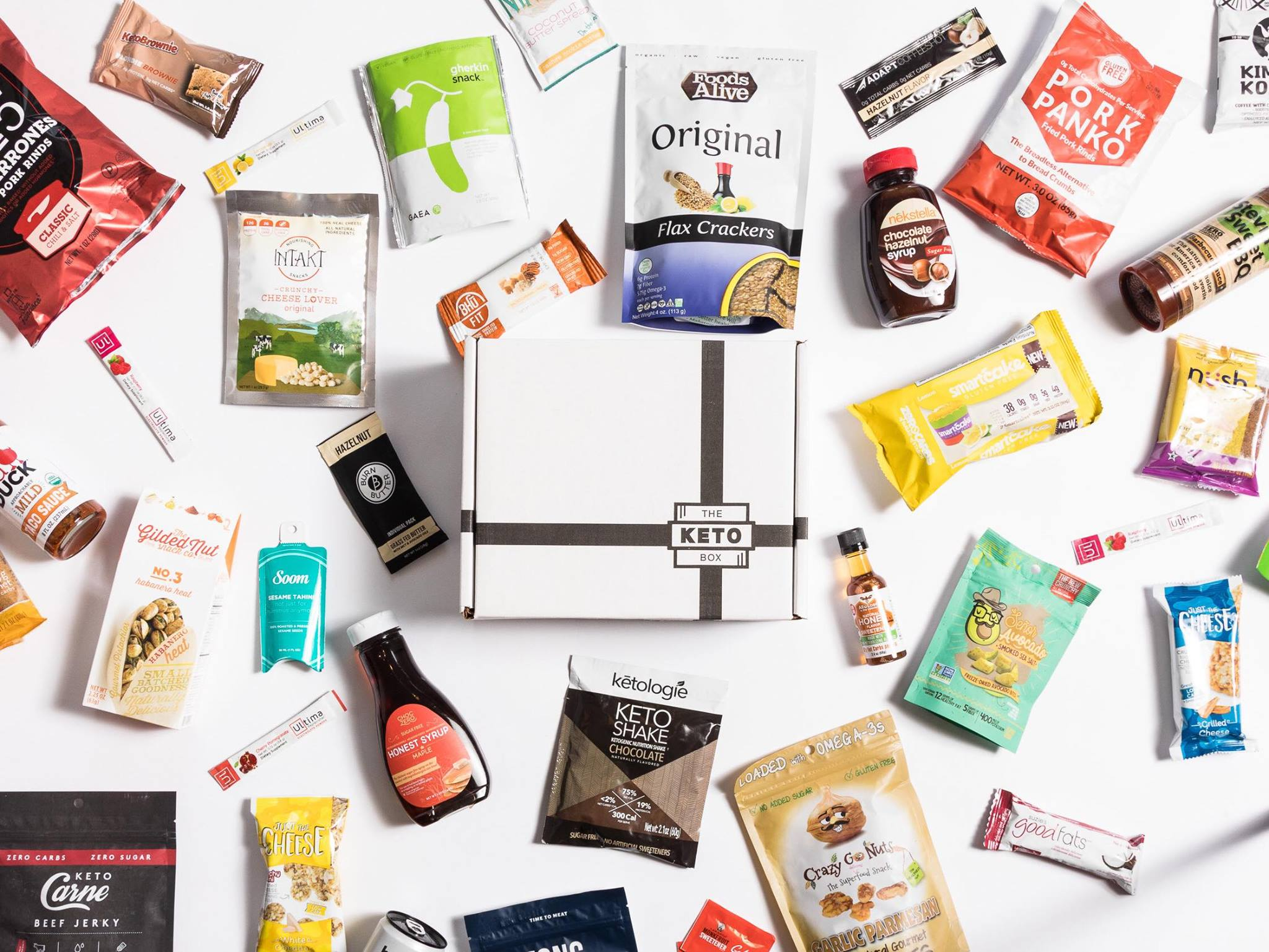 the keto box snack review