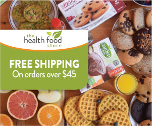 Free shipping on orders over $45 on The Health Food Store!