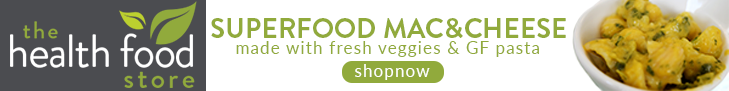 the health food store banner