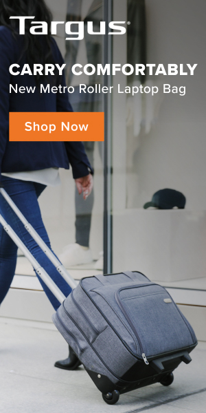 Carry Comfortably | New Metro Roller Laptop Bag From Targus - Shop Now