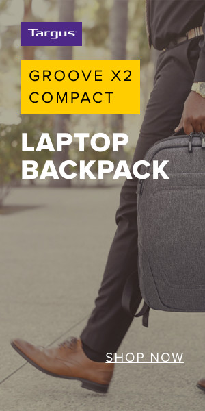Targus Groove X2 Compact Laptop Backpack | Shop Now