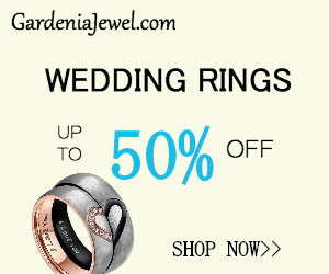 50% Off on All Wedding Rings