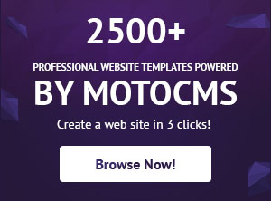 website templates powered by MotoCMS