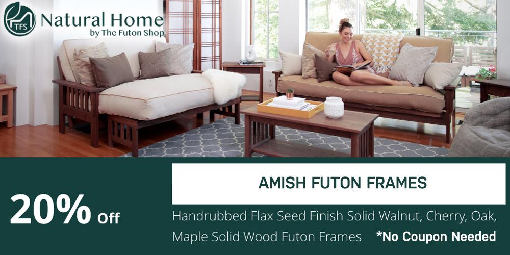 20% Amish Futon Frames