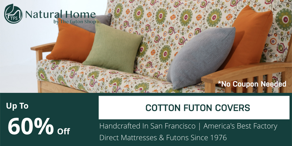 60% OFF Cotton Futon Covers