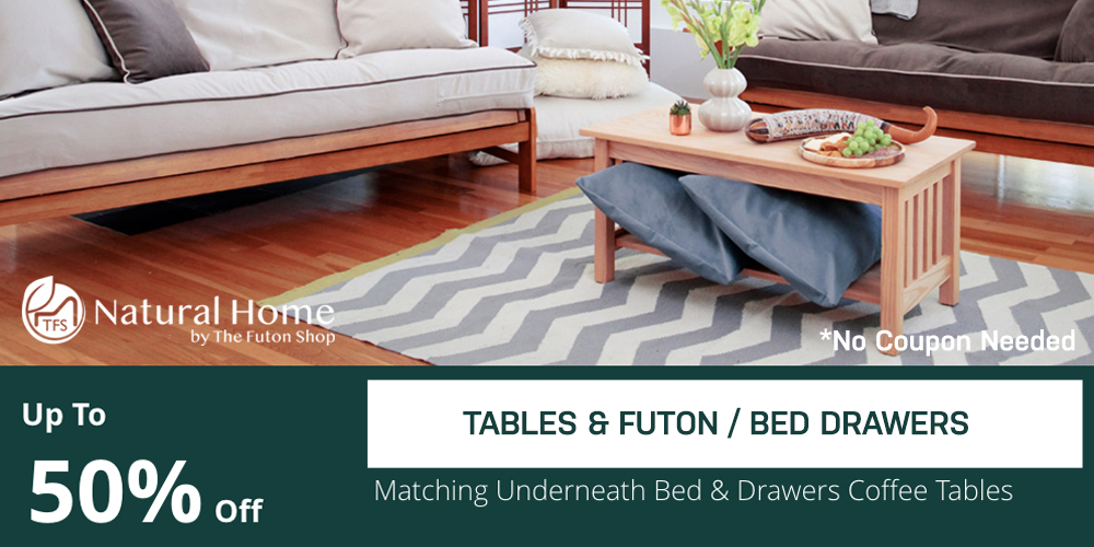 50% OFF Tables / Bed Drawers