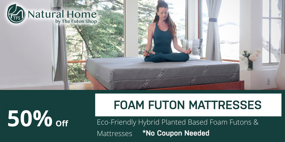 50% Foam Futon Mattresses