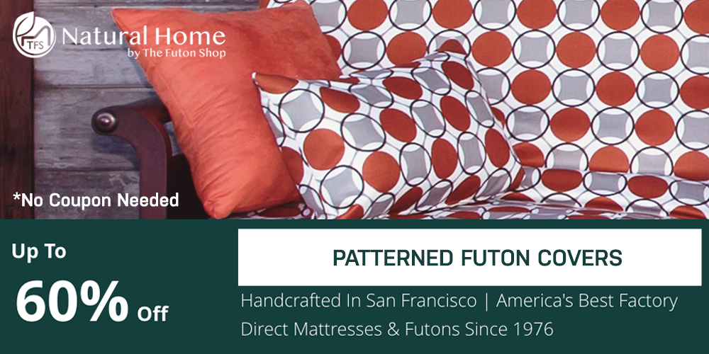 60% OFF Patterned Futon Covers