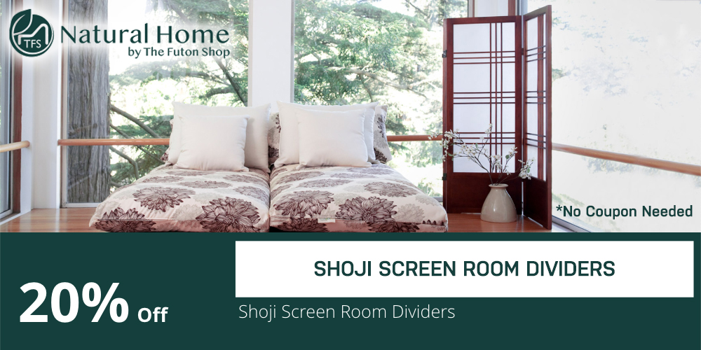 20% shoji screen room dividers