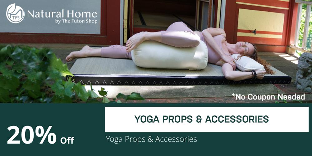 20 % Yoga Props & Accessories