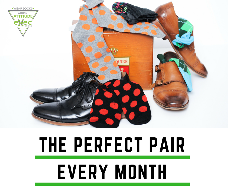 Exec Sock Every Month Subscription
